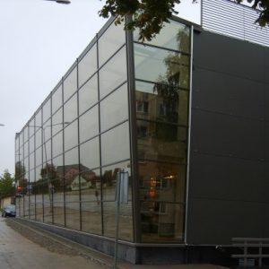 Stiklo ir metalo konstrukcijos