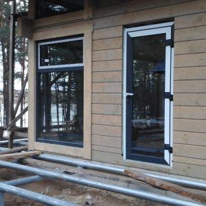 Langų ir durų montavimas
